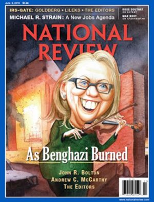 national review clinton