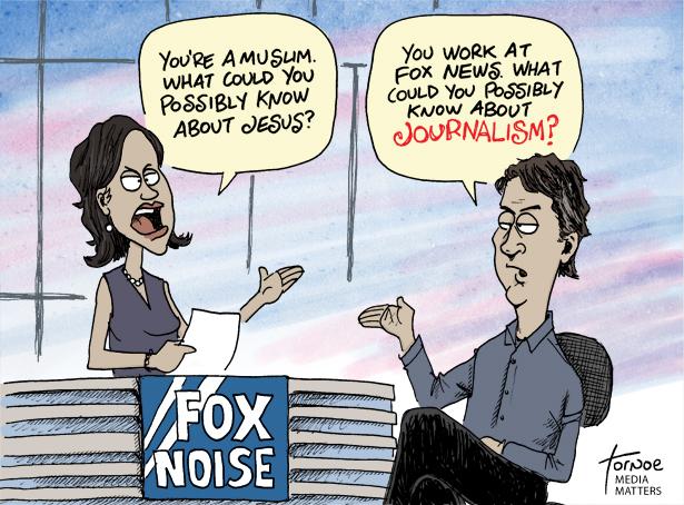 Religion Writers Slam Fox News'