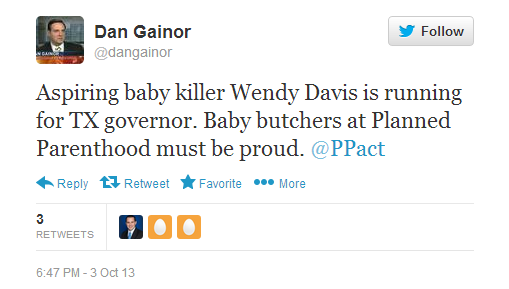 Dan Gainor tweet