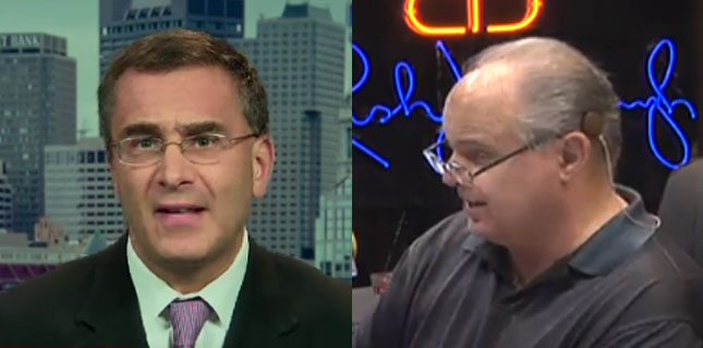 Gruber and Rush Limbaugh