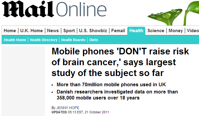 Mail Headline - Mobile
