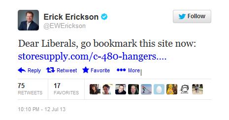 Erickson Tweet 2