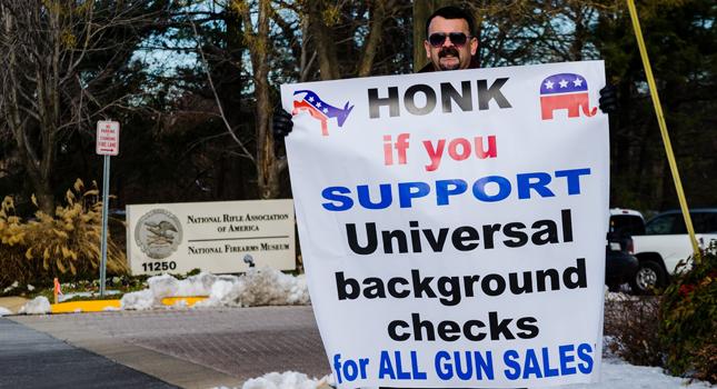 Honk for background checks