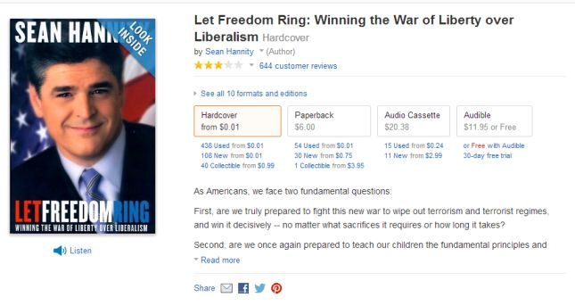 Sean Hannity's Let Freedom Ring on Amazon.com