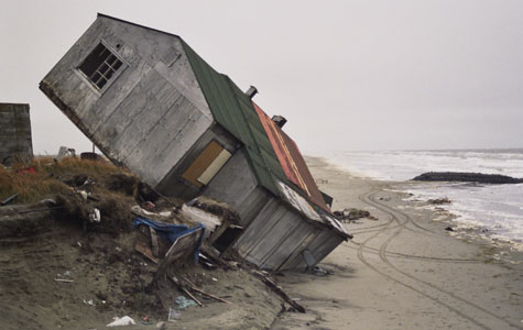 Melting Ice In Alaska Has Lead To Coastal Erosion