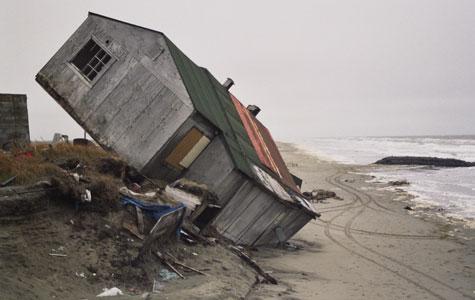 Melting Ice In Alaska Has Lead To Coastal Erosion