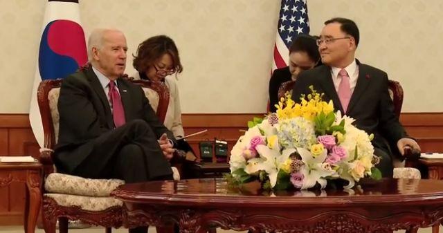 Biden in South Korea