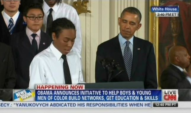 CNN: President Obama Announces My Brother's Keeper Initiative