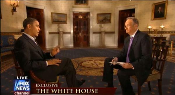 Obama and O'Reilly