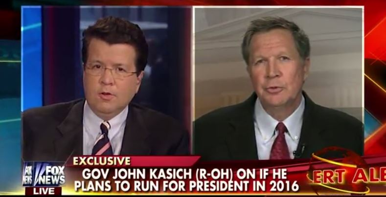 Kasich on Fox