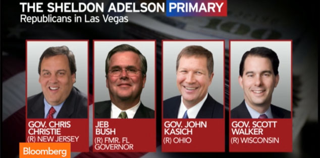 Bloomberg News: The Sheldon Adelson Primary