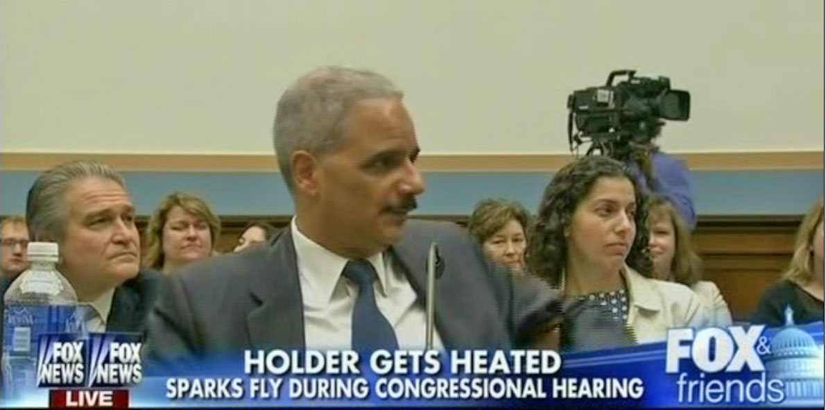 Holder gets heated