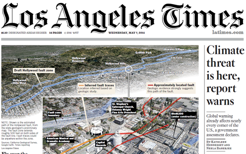 LA Times Front Page May 7