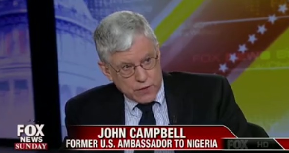 Ambassador John Campbell Agreed With Hillary Clinton's Decision