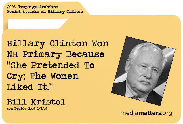 Media Matters Archive: Bill Kristol