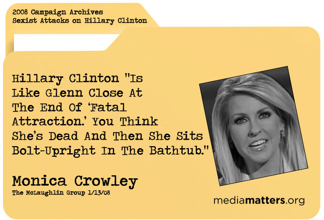 Media Matters Archive: Monica Crowley