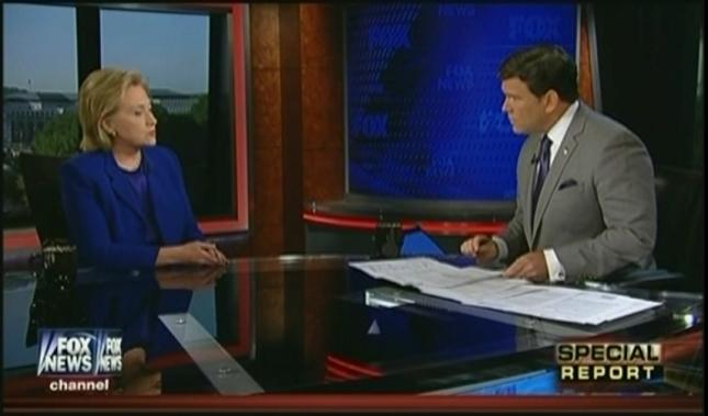 Clinton on Fox