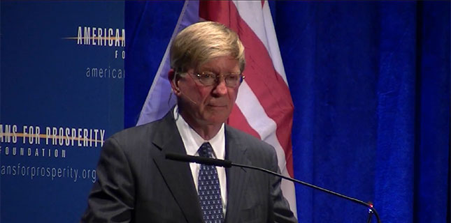 George Will at Americans for Prosperity