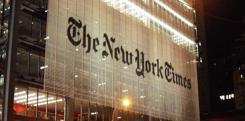 NY Times building
