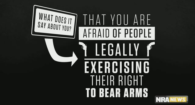 """Gun Rights And Regulations >> NRA: People Who Don't Like Guns Being Carried In Public Are The """"Paranoid"""" Ones"""