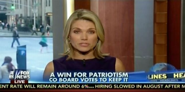 Win for Patriotism chyron