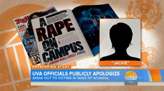 UVA Rape report in Rolling Stone