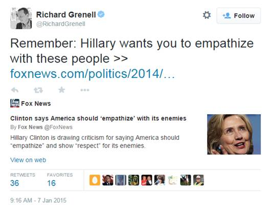 Richard Grenell tweet