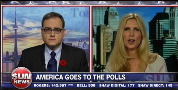 Sun News: Ezra Levant, Ann Coulter