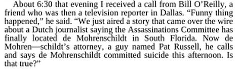 Gaeton Fonzi's 1993 Autobiography