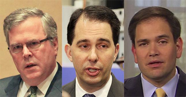 Bush Walker Rubio Composite