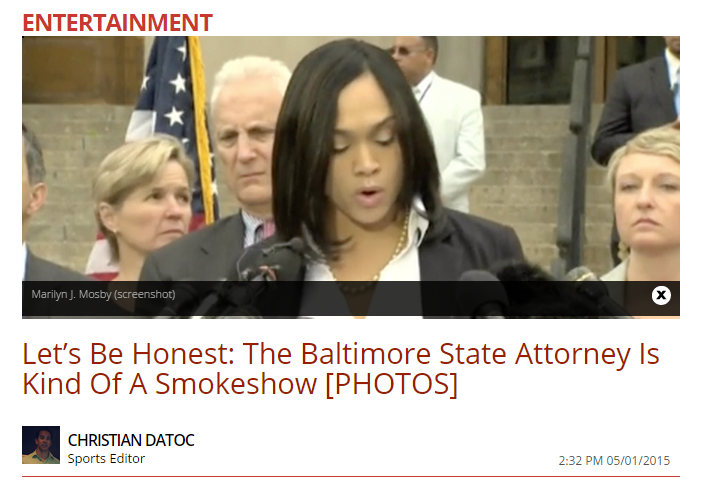 Daily Caller Report On Marilyn Mosby