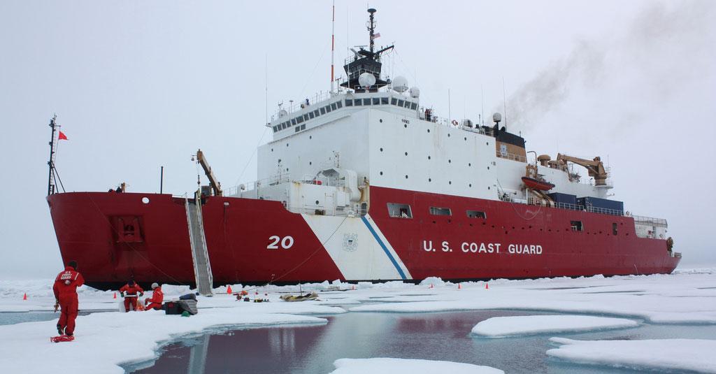 Coastguard Ship