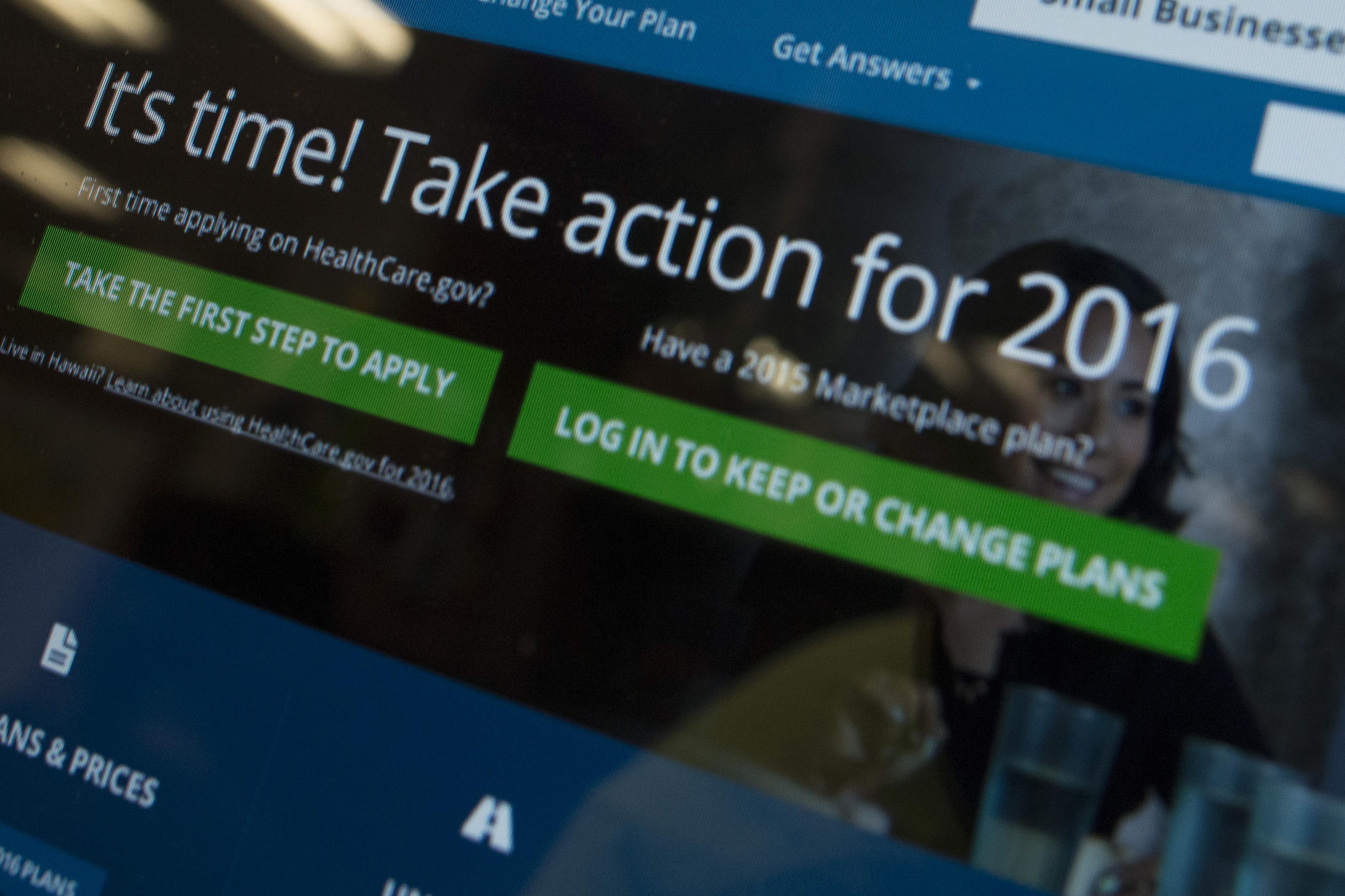 Healthcare.gov is enrolling new applicants until Jan. 31