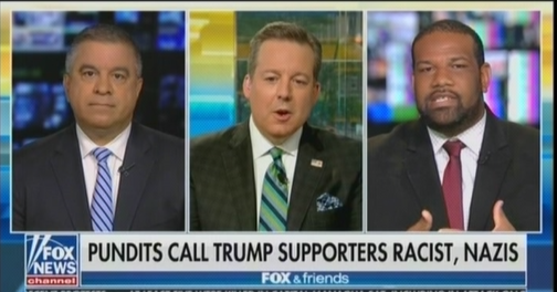 """Fox contributor and former Trump top staffer tells Black guest he is out of his """"cotton-picking mind"""""""