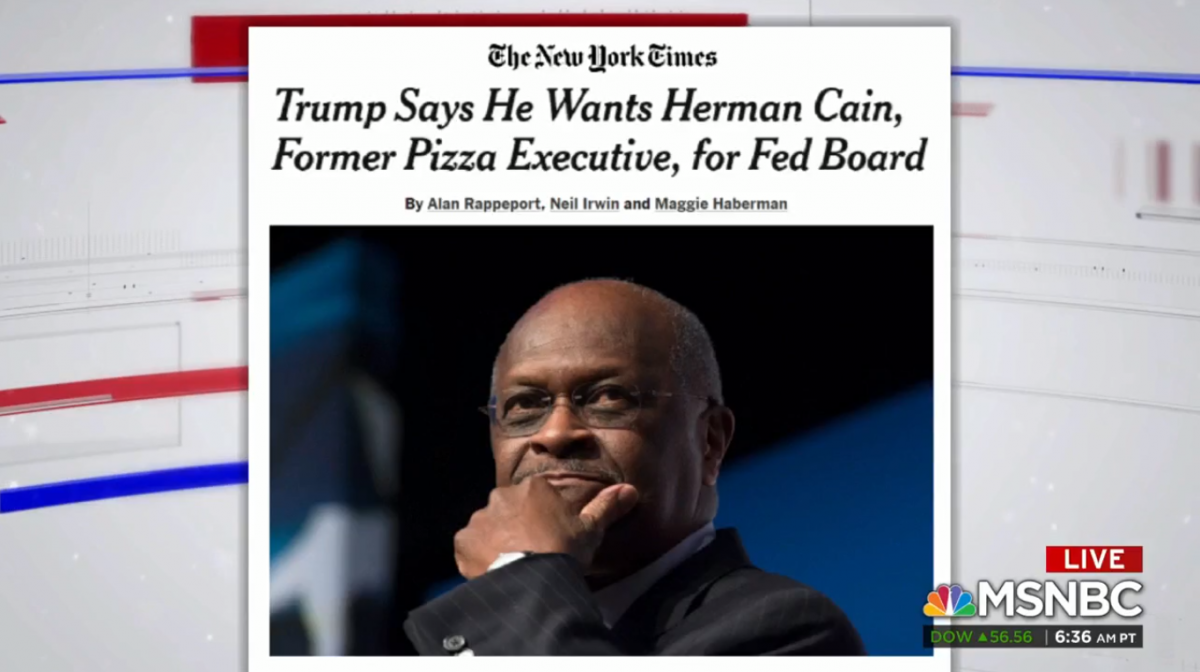 Herman Cain promoted numerous now-virtually-worthless penny stocks through his mailing list