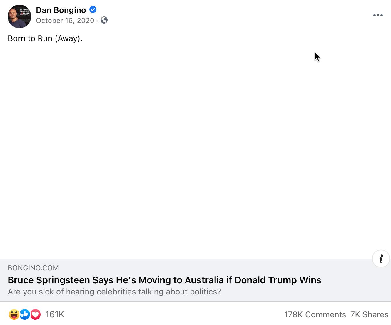 Dan Bongino_facebook post_20201016