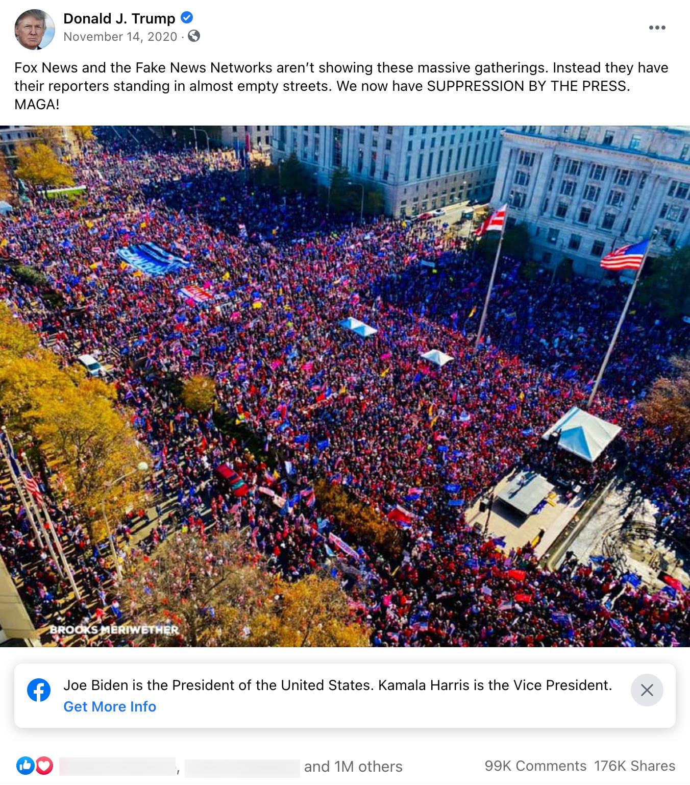 Donald Trump_facebook post_20201114