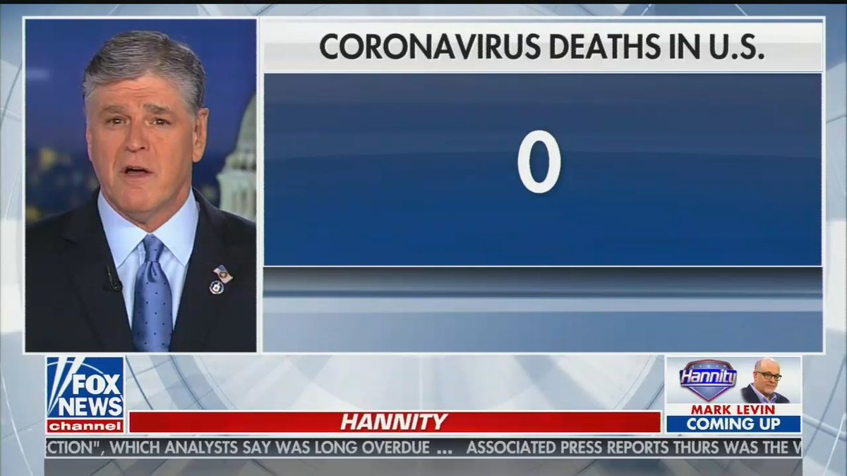 Hannity zero deaths