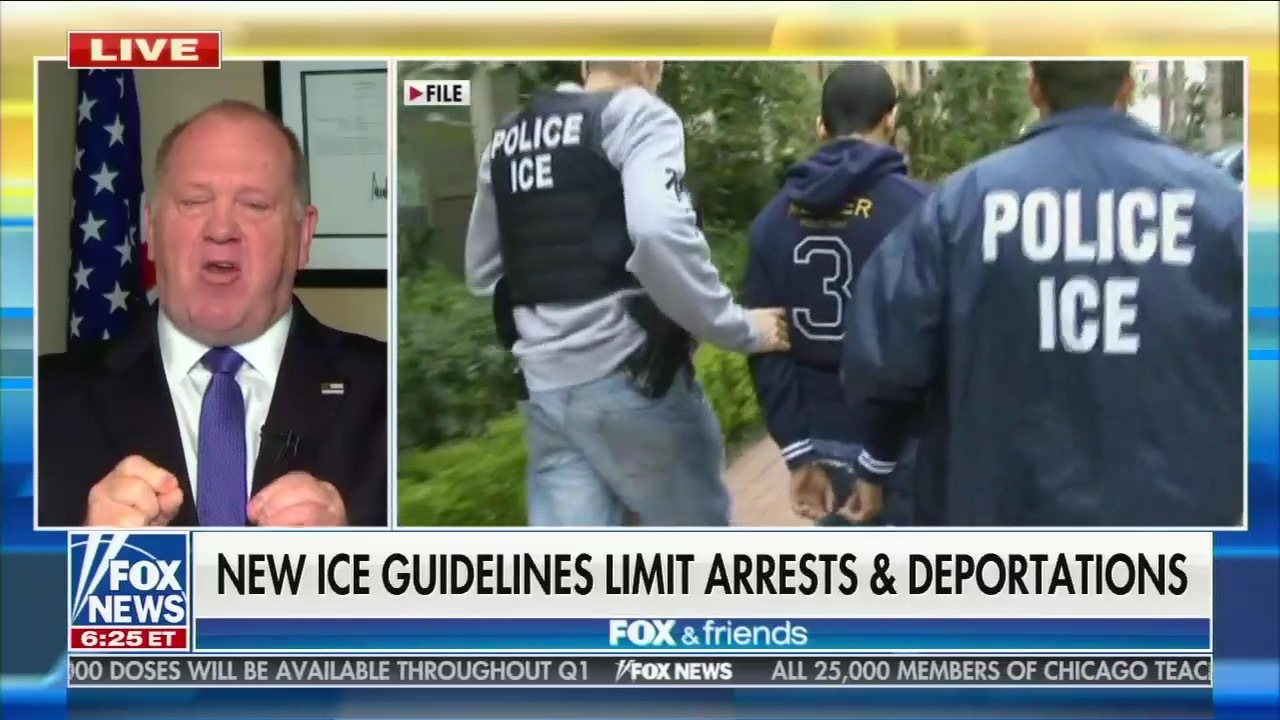 Tom Homan Fox and Friends immigration
