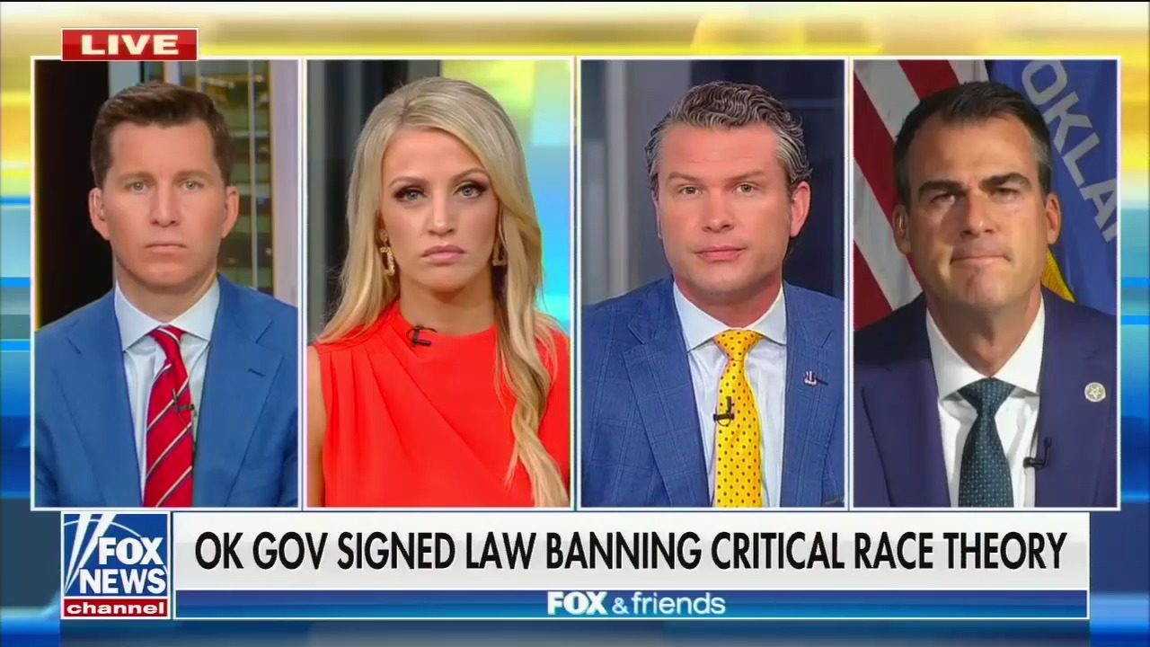 Fox News is amplifying a lie about critical race theory it helped inspire