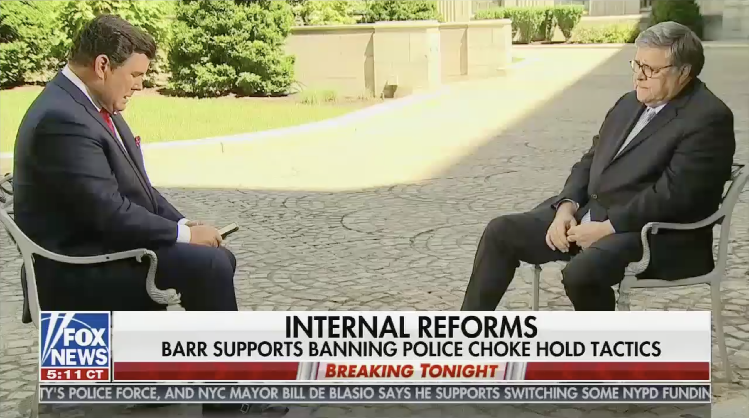 Bret Baier interviews Bill Barr
