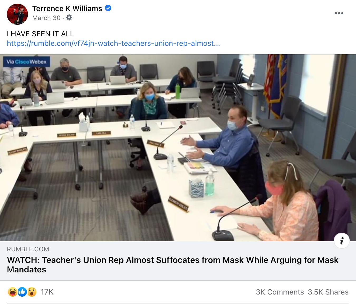 Terrence K Williams_facebook post_20210330