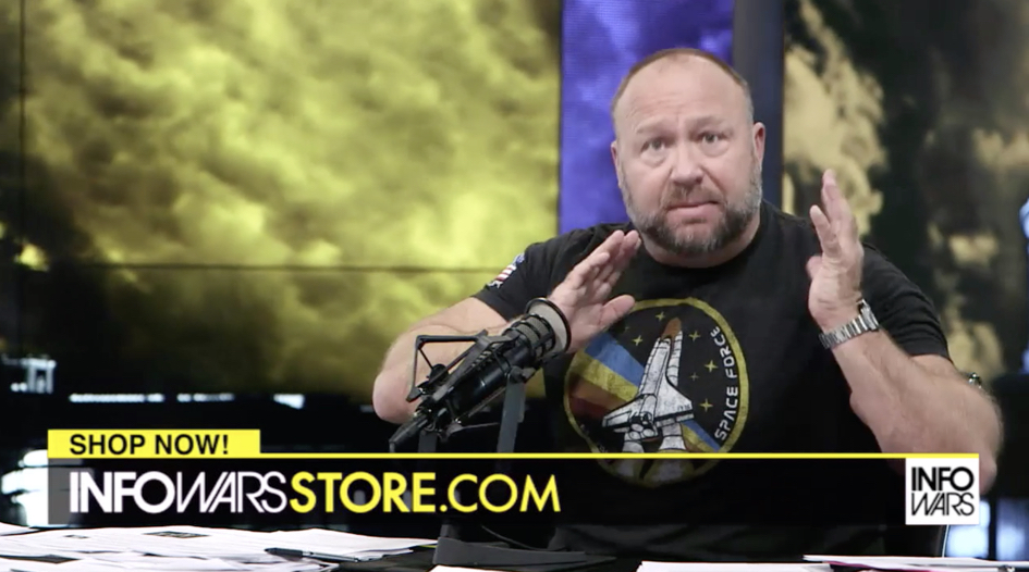Alex Jones FDA April 9