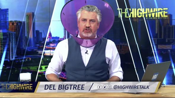 Del Bigtree broadcast