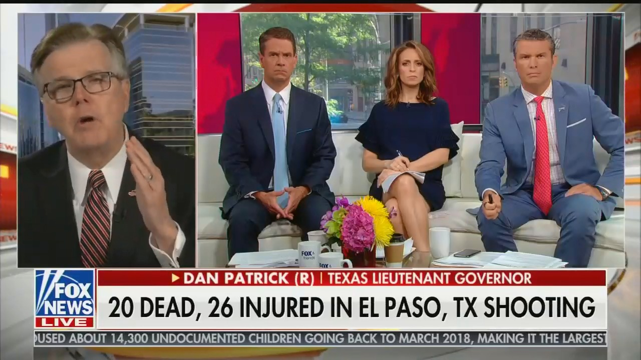 After declining a CNN appearance, Texas Lt  Gov  Dan Patrick goes on