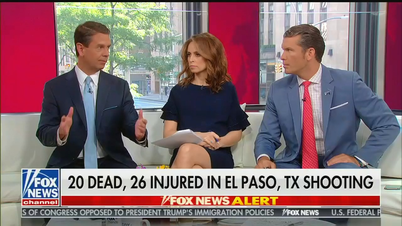 How Fox News pushed propaganda about the El Paso mass