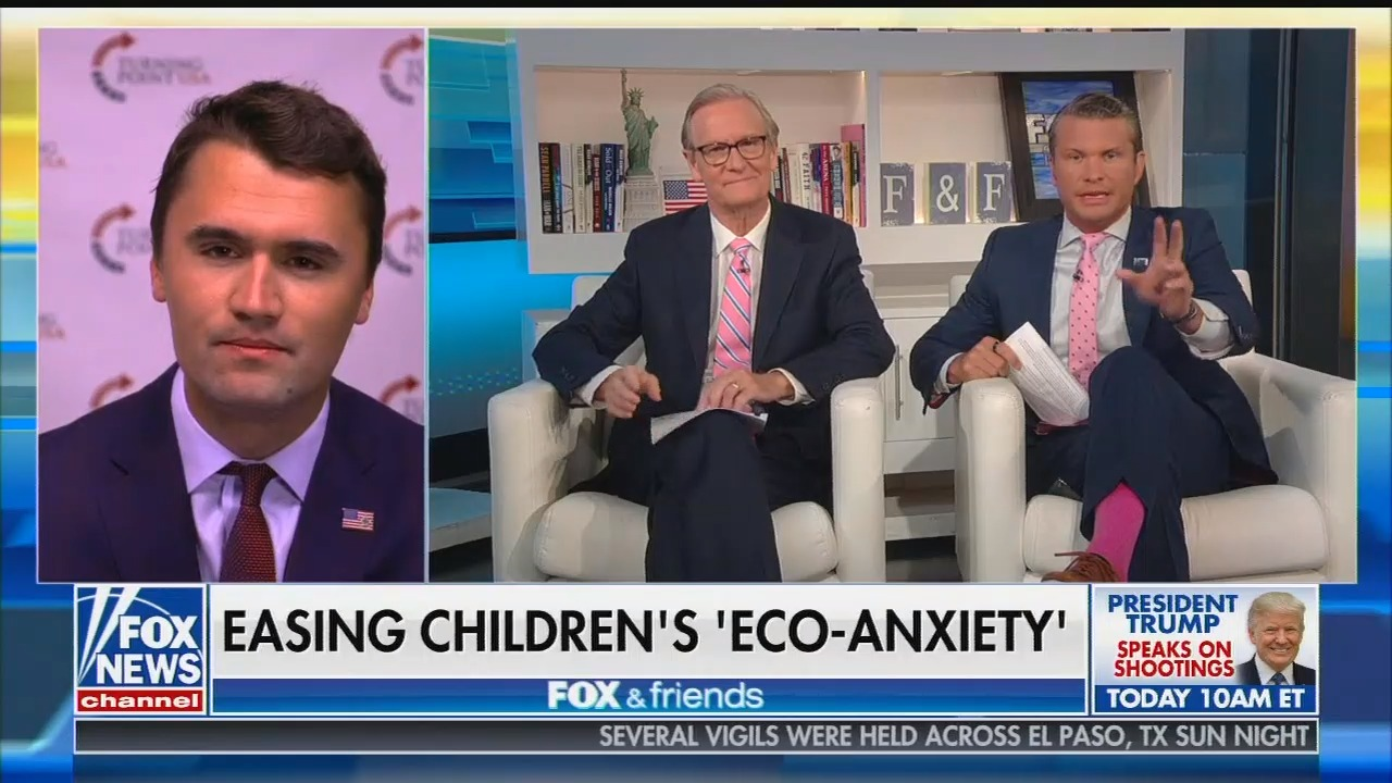 Fox & Friends says that schools are spending too much time teaching children about the climate crisis