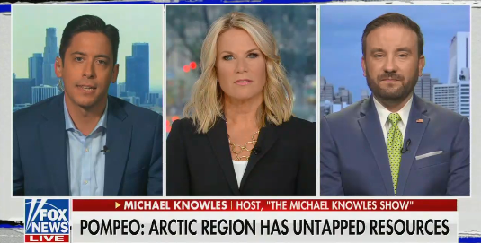 "Fox News' ""hard news"" program The Story is taking Donald Trump's idea to buy Greenland seriously"
