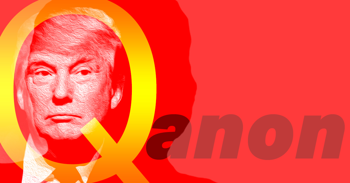 Trump has amplified QAnon Twitter accounts over 25 times. The conspiracy theory has been tied to multiple violent incidents and domestic terrorism.
