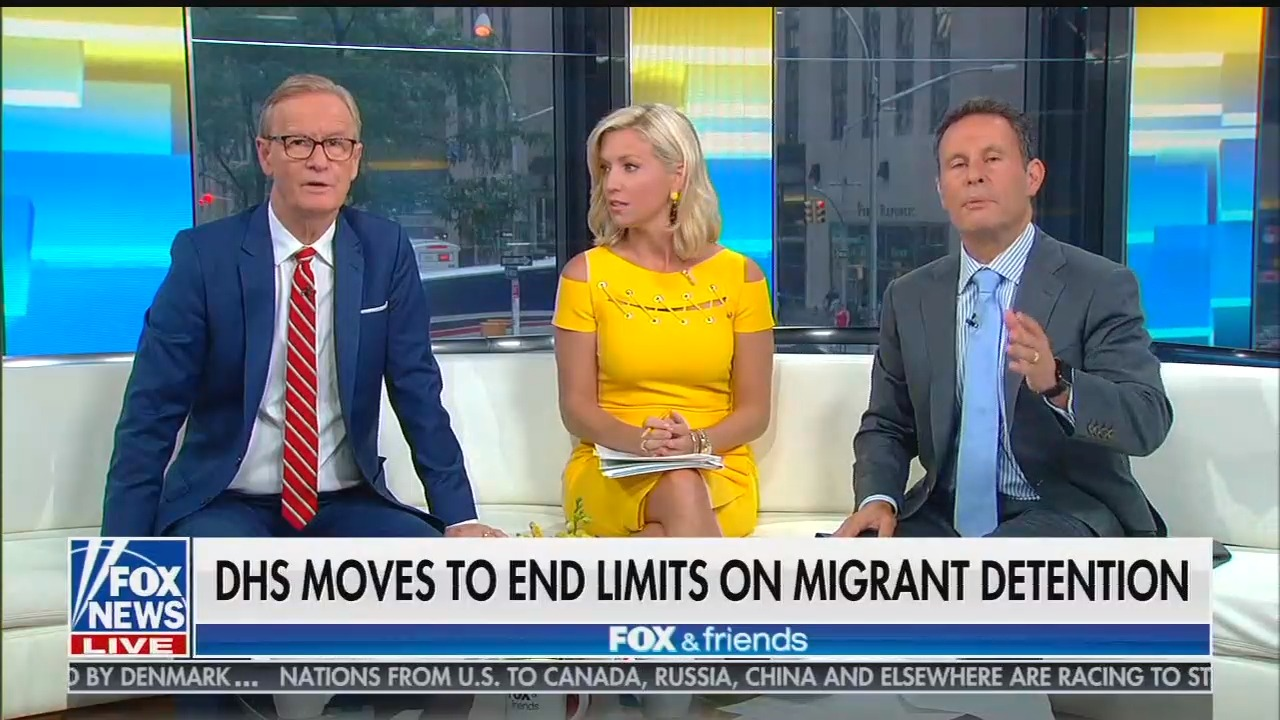 Fox & Friends flails in defense of Trump's plan to detain arriving immigrant families indefinitely